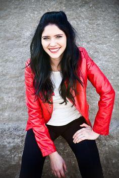 Jaqueta vermelha