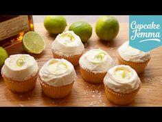 Margarita cupcake recipe   Cupcake Jemma - YouTube