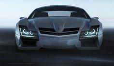 Mercedes Benz SF1 Concept Car By Steel Drake | Trendland: Fashion Blog & Trend Magazine