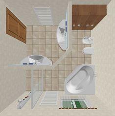 bagno progettato