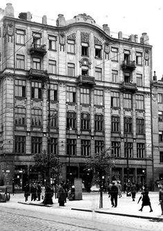 Warszawa - dom przy ulicy Żelaznej 95 (1938 r.).    fot. II Rzeczpospolita