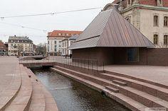 Public Architecture, Landscape Architecture, Landscape Design, Saint Louis, Space Place, Antwerp, Cladding, Pavilion, Facade