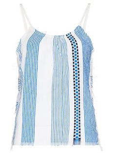 New In this week for Women 2019 - Farfetch Fendi Purses, Lemlem, Size Clothing, Camisole, Scoop Neck, Women Wear, Blue And White, Stripe Pattern, Cotton