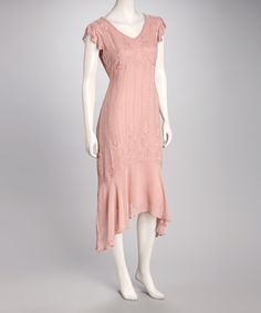 Pink Beaded Dress | Daily deals for moms, babies and kids