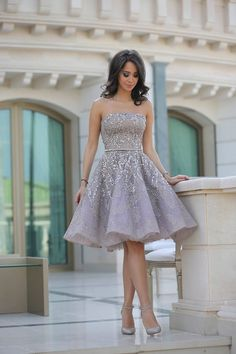 Beautiful Lebanese fashion blogger, Lana El Sahely, in her Elie Saab Fall 2013 Couture engagement dress!