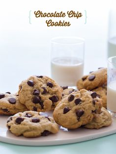 Our Best Ever Chocolate Chip Cookies