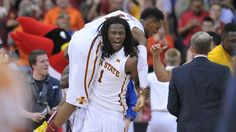While his mother Tonya Morris watched in jubilation from the stands, Monte Morris led Iowa State on a late 18-6 run to steal the victory away from Texas.