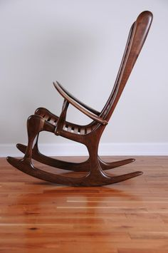 Sculpted Rocking Chair