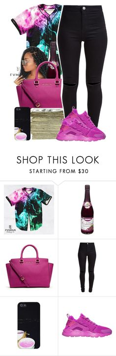 """""""Untitled #975"""" by kaja-bear ❤ liked on Polyvore featuring Concord, MICHAEL Michael Kors, SEN, New Look and NIKE"""