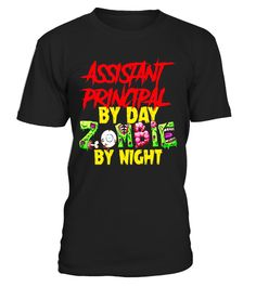 """# Assistant Principal By Day Zombie By Night T Shirt Halloween .  Special Offer, not available in shops      Comes in a variety of styles and colours      Buy yours now before it is too late!      Secured payment via Visa / Mastercard / Amex / PayPal      How to place an order            Choose the model from the drop-down menu      Click on """"Buy it now""""      Choose the size and the quantity      Add your delivery address and bank details      And that's it!      Tags: assistant principal…"""