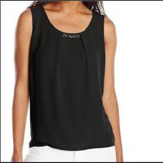 New black blouse Beautiful blouse very flattering Tops Blouses