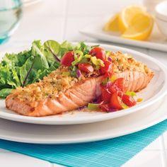 Saumon en cro Chop Suey, Parmesan, Sushi, Seafood, Ethnic Recipes, Magazines, Calories, Photos, Nutrition
