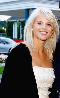 Elin Nordegren - beautiful haircut