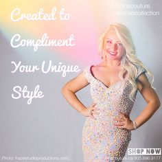 Each is created to compliment your Pantone Photo: Hazel Studio Productions Model: Anna-Nina Now available at Nina's Collection Boutique Famous Fashion Quotes, Style Quotes, Stunning Dresses, Spring 2015, Mother Of The Bride, Pantone, Bride Groom, Compliments, Special Occasion