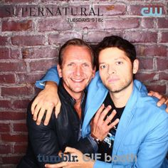 Gotta separate those angels  | supernatural 200th episode party