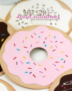 Super Simple Donut Valentines - tutorial | by Amber at Damask Love