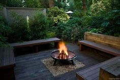 78 diy backyard fire pits design ideas