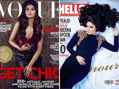 September is turning out to be one hot month as Bollywood celebrities show off their sexy side on the latest glossies. But scoring high above the rest on the sizzl-o-meter are Sonam Kapoor and Kareena Kapoor Khan. As the magazine cover wars continue, tell us who your favourite cover girl is. Don't Miss! Kiran Rao Vs Kangna Ranaut on August Mag Covers