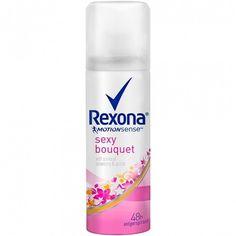 Rexona Rexona Motionsense Sexy Bouquet Antiperspirant Aerosol... ❤ liked on Polyvore featuring beauty products, bath & body products, deodorant, antiperspirant deodorant and anti perspirant deodorant