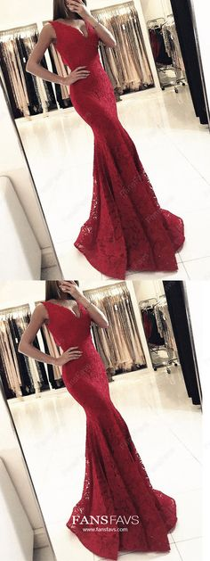 mermaid red v-neck prom party dresses, fashion v-neck formal evening gowns, Shop plus-sized prom dresses for curvy figures and plus-size party dresses. Ball gowns for prom in plus sizes and short plus-sized prom dresses for Prom Dresses For Teens, V Neck Prom Dresses, Mermaid Evening Dresses, Prom Dresses Online, Prom Party Dresses, Formal Evening Dresses, Evening Gowns, Prom Gowns, Pageant Dresses