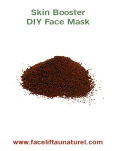 boosting capuccino DIY facial recipe