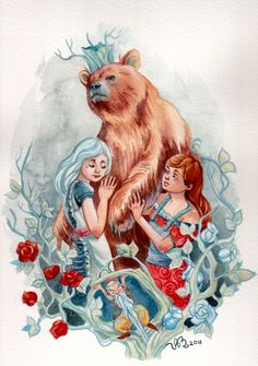 Snow White and Rose Red.