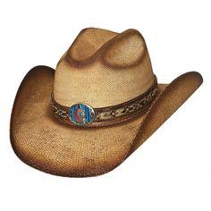 4fcf7cdb65f64 BULLHIDE RED CLOUD BANGORA STRAW Cowboy HAT  2781