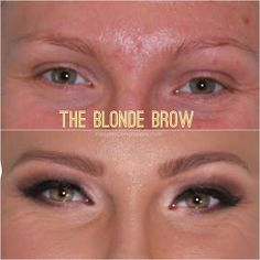 Imma do this. Cuz it sux havin blonde eyebrows :/       Kissable Complexions: The Bride Guide: Brow Makeovers.