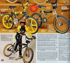 Raleigh Burners: 1983
