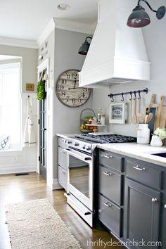 DIY vent hood over stove