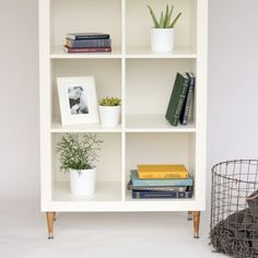 Update your expedit/kallax furniture with just a couple easy changes!