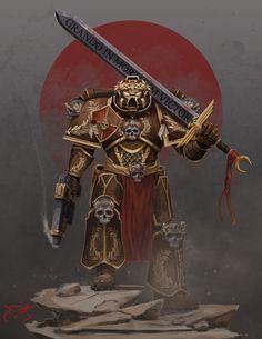 Grando In Mortuum Victor! - Warhammer40k   TheGreaterDesign on DeviantArt