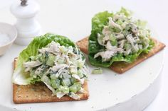 Chicken, celery, chives and mint