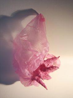 mireille vautier's beautiful embroidered plastic