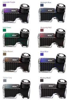Montblanc Premium Colours Bottled Ink Pens