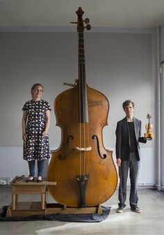 musical instruments Is The Octobass The Worlds Rarest Classical Music Instrument? Only seven have ever existed. Andy Battaglia reports from Norway on an extremely rare performance Sound Of Music, Music Is Life, Soul Music, Homemade Musical Instruments, Mundo Musical, Foto Picture, Double Bass, All About Music, Classical Music