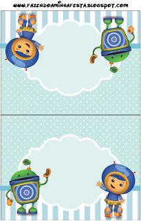 {free} Umizoomi Party Printables 5th Birthday, Birthday Party Themes, Birthday Ideas, Nick Jr, Party Printables, Free Printables, Table Cards, Kids Rugs, Html