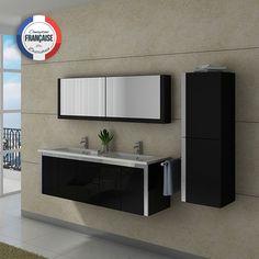 DIS9350GT Meuble salle de bain gris taupe | Taupe, Bathroom ...