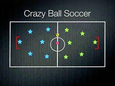 PE Games - Crazy Ball Soccer