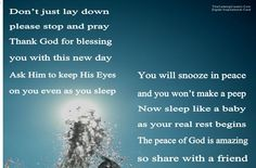 Psalm 4:8 In peace I will lie down and sleep, for you alone, Lord, make me dwell in safety.#Love #God #Pray #Peace