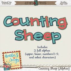 Counting Sheep {Alphas}