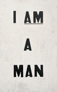 Glenn Ligon: protest poster- simple yet very, very effective