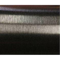 Fırça İzli Siyah Folyo 100 Cm X 152 Cm