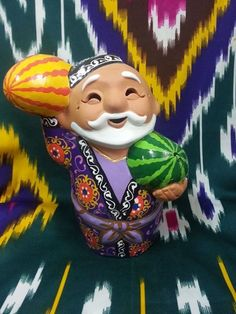Uzbek souvenir figurine
