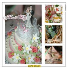 Milada a Radek, svatební dorty