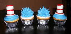 Happy BD Dr. Suess...cupcakes