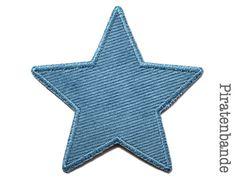 Cord Stern Applikation Hosenflicken grau