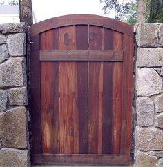 Spanish Style wood Fences and Gates | Wrought iron gates, driveway gates, gate automation