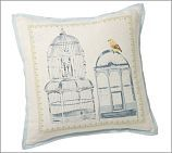 Bird Cage Pillow Covers ~ Pottery Barn