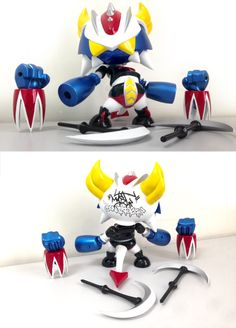 Goldorus by Mist, BonusToyZ // Janvier 2014 I Custom in progress I #Grendizer I #Goldorak
